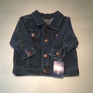 NWT: Genuine Kids from OshKosh Light Denim Jacket